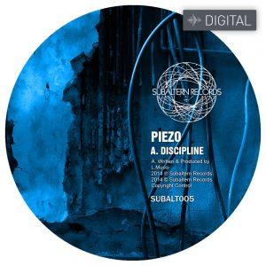 SUBALT005 - Piezo - Discipline EP