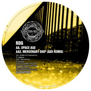 SUBALT006 - RDG & Hitman - Mercenary Ship EP