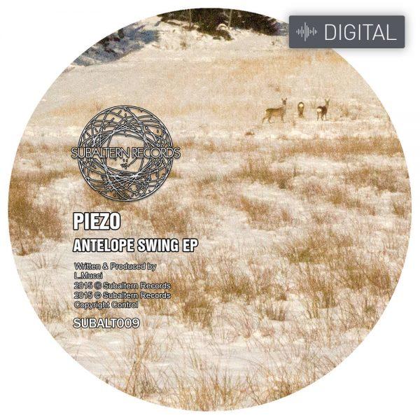 SUBALT009 - Piezo - Antelope Swing EP