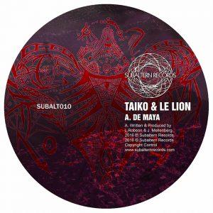 SUBALT010 - Taiko & Le Lion - Flummox EP
