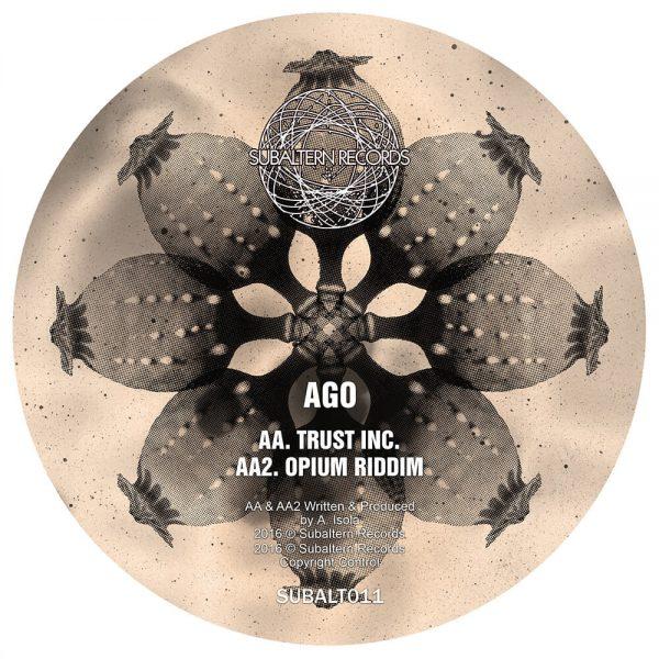 SUBALT011 - Ago - Backlash EP