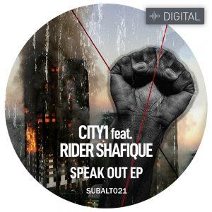 SUBALT021 - City1 feat. Rider Shafique - Speak Out EP