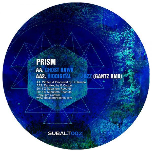 SUBALT002 - Prism -Biodigital Jazz EP