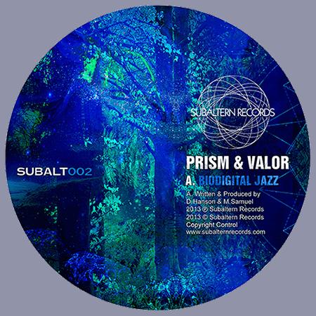 SUBALT002 - Prism - Biodigital Jazz EP