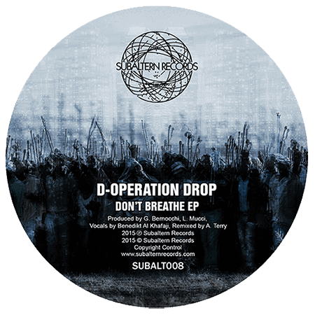 SUBALT008 - D-Operation Drop - Don't Breathe EP